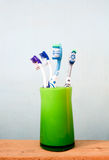 toothbrushes Immagini Stock