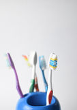 toothbrushes Obrazy Stock