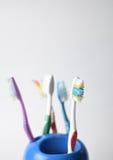 toothbrushes Imagenes de archivo