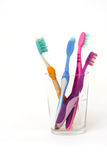 Toothbrushes Fotos de Stock