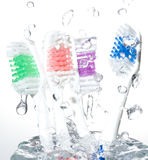 Toothbrushes Stock Photos