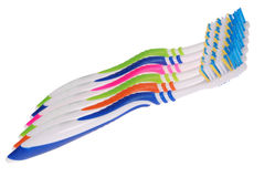 Toothbrushes (clipping path) Stock Image