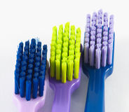 Toothbrushes diferentes Imagens de Stock