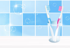 Toothbrushes Stock Image