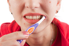Toothbrushing Royalty Free Stock Image