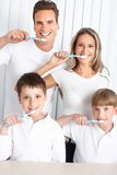 Toothbrushing Stock Photography