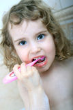 Toothbrushing Royalty-vrije Stock Foto