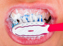Toothbrushing Royalty Free Stock Photo