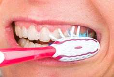 Toothbrushing Royalty Free Stock Photography
