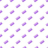 Toothed comb pattern, cartoon style. Toothed comb pattern. Cartoon illustration of toothed comb vector pattern for web Royalty Free Stock Image