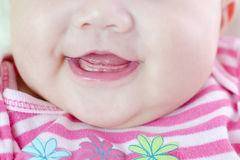 Toothless smile Stock Photos