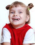 Toothless smile Royalty Free Stock Image