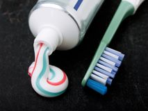 Toothpaste Stock Image