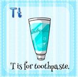 toothpaste Photo stock