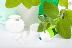 toothpaste för ny mint fotografering för bildbyråer