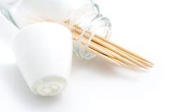 toothpick контейнера открытый Стоковая Фотография