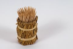 toothpick stock foto's