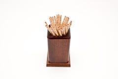 Toothpick imagen de archivo libre de regalías