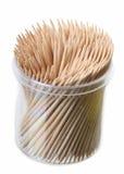 Toothpick fotografie stock libere da diritti