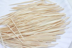 toothpick Foto de Stock