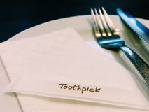 toothpick Immagine Stock