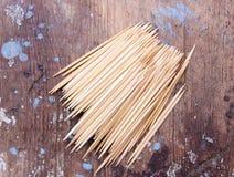 toothpick royalty-vrije stock foto's