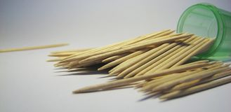 Toothpick 7 Royalty Free Stock Photos