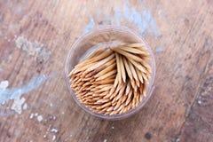 toothpick royalty-vrije stock foto