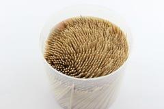 Toothpick box Stock Photos
