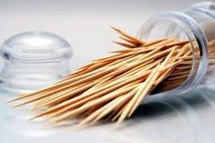 Toothpick de cocktail Photographie stock libre de droits