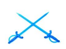 Toothpick de la espada foto de archivo libre de regalías
