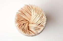 Toothpick de madera de la cocina Foto de archivo libre de regalías
