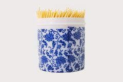 Toothpick dentiscalprum. The toothpick is actually an important oral hygiene appliance, and it has been over the history of 2000. Because its volume is small stock photo