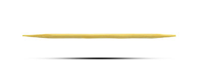 Toothpick. Isolate on white background royalty free stock images