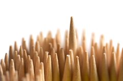Toothpick (one different) Stock Photo