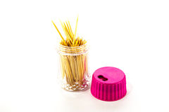 Toothpick in packaging Stock Photo