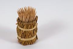Toothpick. Wood food stock photos