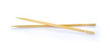 Toothpick on white background royalty free stock photos
