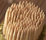 Toothpicks Stockbild