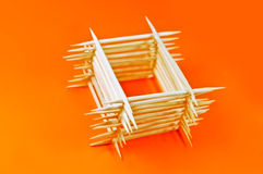 Toothpicks Stock Photo