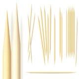 Toothpicks royalty illustrazione gratis