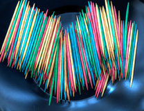 toothpicks Stockfoto