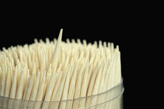 toothpicks Foto de Stock Royalty Free