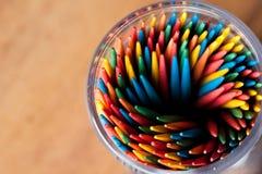 toothpicks Στοκ εικόνες με δικαίωμα ελεύθερης χρήσης