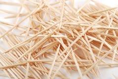 Toothpicks Imágenes de archivo libres de regalías