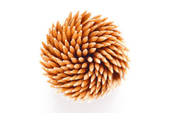 Toothpicks from above Royalty Free Stock Image