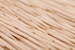 Toothpicks abstract composition Royalty Free Stock Photography