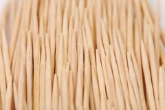 Toothpicks abstract composition. Vertically. Stock Image