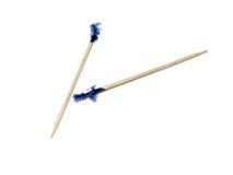 Toothpicks aislados foto de archivo libre de regalías