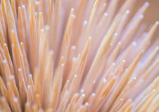 Toothpicks as background Royalty Free Stock Photo